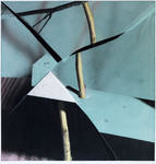 Untitled (blue with triangle), 1990